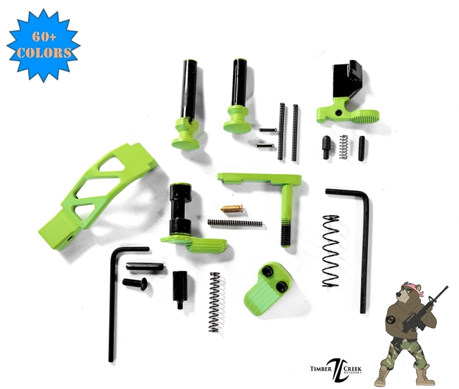 Exclusive Lower Parts Kit- COLOR -No FCG or Grip - shown in Zombie Green