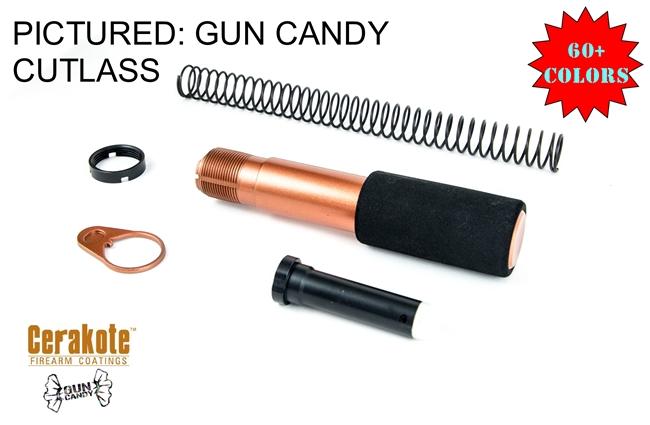 Pistol Buffer Tube Kit w/Foam Sleeve -COLOR OPTIONS